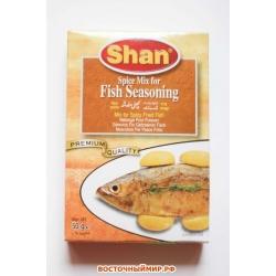 """Приправа для рыбы (Fish Seasoning Mix) """"SHAN"""", 60 г."""