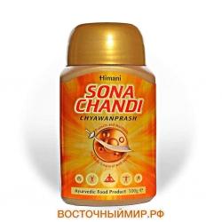 "Чаванпраш Sona Chandi с шафраном, золотом и серебром ""Himani"""