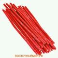Свеча восковая Красная N 10 (длина 34 см.)