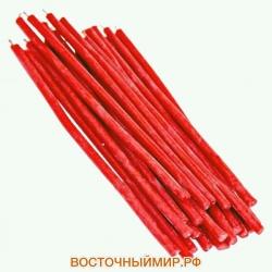 Свеча восковая Красная N 60 (длина 21 см.)