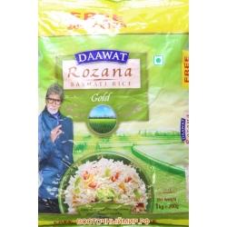 """Рис басмати Rozana Super  """"Daawat"""", 1,2 кг."""