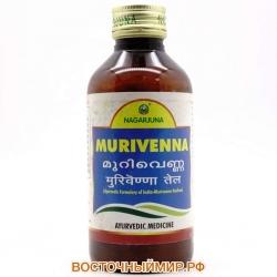 "Масло массажное Муривенна Тайлам (Murivenna Thailam) ""Nagarjuna herbal concentrates"", 200 мл."