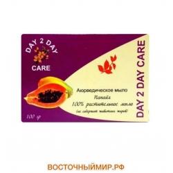 """Мыло натуральное Папайя """"Day 2 day care"""", 100 г."""