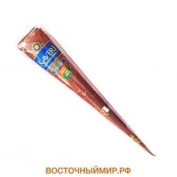 Хна Коричневая (Натуральная 100%) для Мехенди в конусах «Kaveri», 35 г.