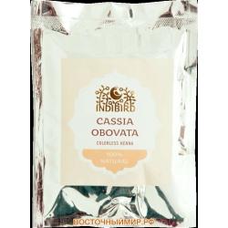 "Хна натуральная бесцветная (Cassia obovata) ""Indibird"", 50 г."