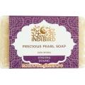 """Аюрведическое мыло Драгоценный жемчуг (Precious Pearl Ayurvedic Soap) """"Indibird"""", 100 г."""