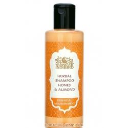 "Шампунь Мёд и Миндаль (Honey Almond Shampoo) ""Indibird"", 200 мл."