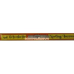 Тибетские благовония Норлинг инсенс (Norling incense), 21 шт.