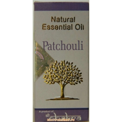 "Натуральное эфирное масло Пачули (Patchouli) ""CHAKRA"", 10 мл."