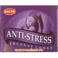 """Благовония в конусах Антистресс (Anti Stress) """"HEM"""""""