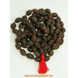Чётки из семян лотоса, 108 бусин
