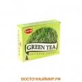 """Благовония в конусах Зеленый Чай (Green Tea) """"HEM"""""""