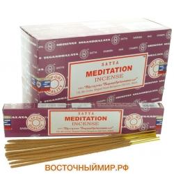 Благовония Медитация (Meditation) «Satya», 15 г.