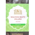 "Маска для лица Мултани Мутти Желтая (Multani Mutti Yellow Face Pack) ""Indibird"", 50 г."