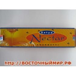 "Благовония Нектар (Nectar) ""Satya"" 45 г."