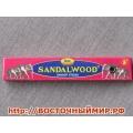 Безосновные благовония Sandal wood Сандаловое дерево
