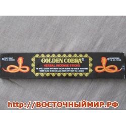 """Благовония Золотая Кобра """"Golden Cobra"""", 15 г."""