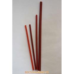 Свеча восковая Красная N 40 (длина 27 см.)