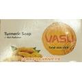 Мыло с Куркумой антисептическое (Vasu TURMERIC SOAP Uva), 125 г.