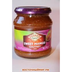 """Чатни манго сладкий """"Pataks"""", 340 г."""