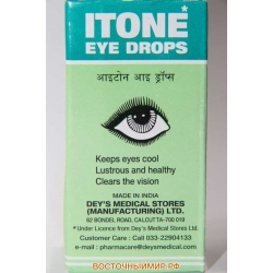 "Глазные капли ""Itone"" 10 мл."