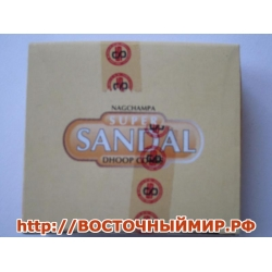 "Благовония в конусах Супер Cандал (Super Sandal) ""Satya"""
