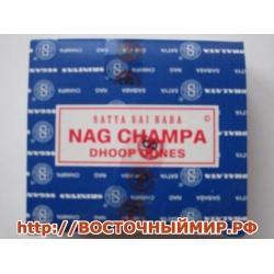 """Благовония в конусах Наг Чампа (Nag champa) """"Satya"""""""