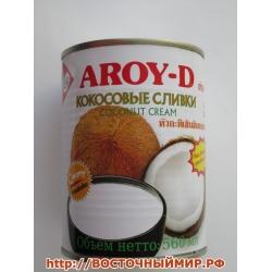 """Кокосовые сливки """"AROY-D"""" 70%, 1 л."""